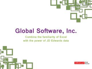 Maximize business potential with Live Excel-based JDE Report