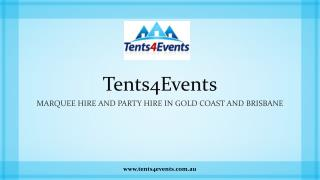 Marquee Hire and Party Hire in Gold Coast and Brisbane
