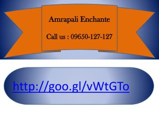 Amrapali Enchante Noida Extension