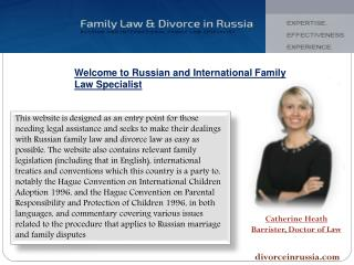 Divorce In Russia
