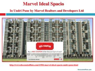 Buy Red Coupon & get upto 5 lacs off on Marvel Ideal Spacio