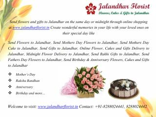 Send Flowers Online to Jalandhar