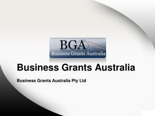 Australian Business Grants