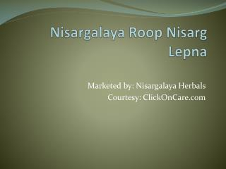 Nisargalaya Face Cream Online in India