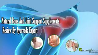 Natural Bone And Joint Support Supplements Review By Ayurved