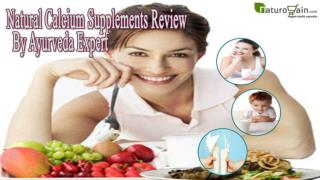 Natural Calcium Supplements Review By Ayurveda Expert