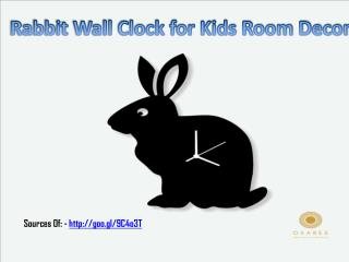 Kid's Designer Wall Clocks