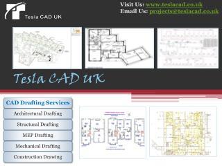 Tesla CAD UK delivers high-end CAD Services