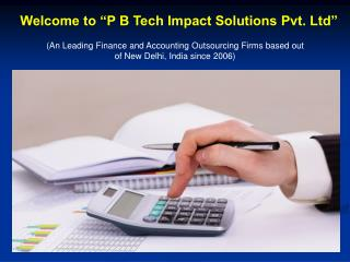 Finance and Accounting Outsourcing Services in India