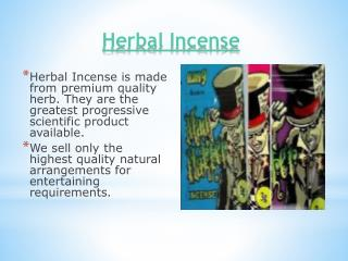 Herbal Incense