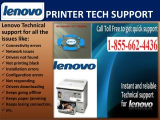 Get Lenovo Printer Technical (1-855-662-4436) Support Phone