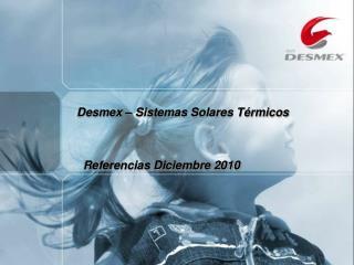 Referencias Diciembre 2010