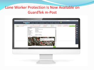Lone Worker Protection is Now Available on GuardTek m-Post