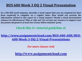 BUS 600 Week 3 DQ 1 Technology and Communication