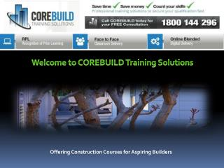 Building and Construction Courses