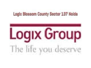 Logix Blossom County Noida # Call  91-9999684955 #