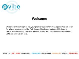 Web Design Birmingham - Vibe Graphics