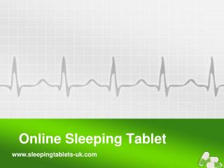 Online Sleeping Tablets
