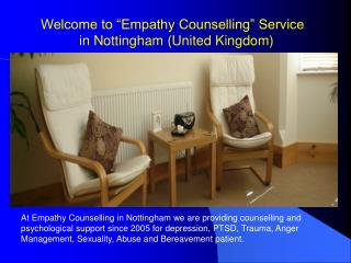 Psychological Counselling Services in Nottingham