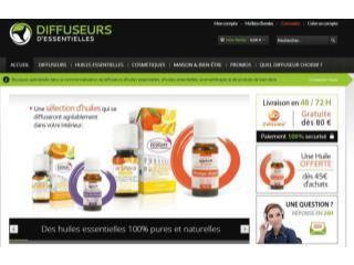 Boutique de diffuseur d'huiles essentielles