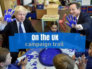 On the UK campaign trail