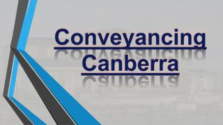 Conveyancing Canberra