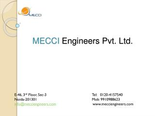 Mecci engineers pvt ltd, Mecci engineers noida, India