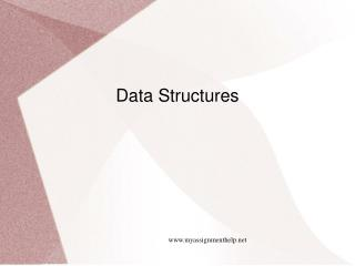 Learn Data Structures With Myassignmenthelp.Net
