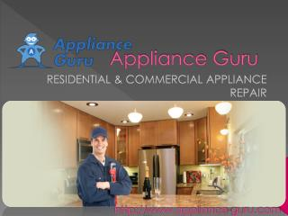 appliances repair service