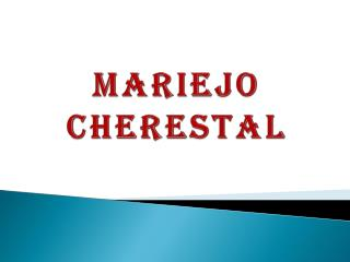 Mariejo Cherestal - Clothing Fashion Designer