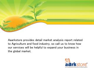 Agriculture and Food Market Research Reports