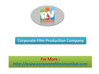 Corporate Film Production