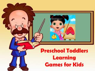 Preschool Toddler Learning Games for Kids