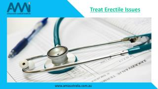Treat Erectile Dysfunction (ED) Issues