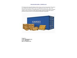 Cargo services London – fnglobal.co.uk