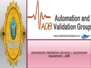 FDA Software Validation - ADB