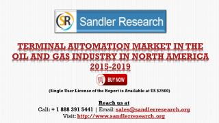 Terminal Automation Market in North America 2015-2019