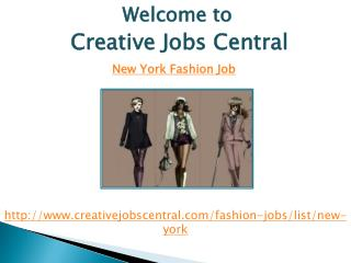 New York Fashion Jobs