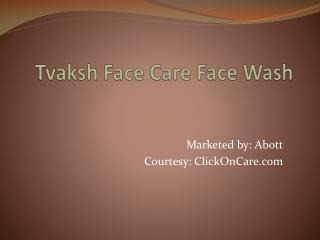 Tvaksh Face Care Face Wash in India