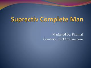 Supractive Complete Man Capsules Online