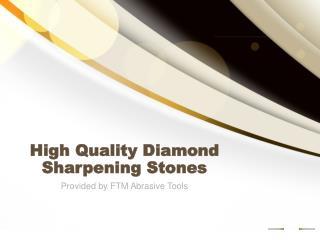 High Quality Diamond Sharpening Stones