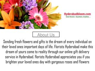 Flowers to hyderabad