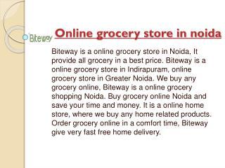 online grocery store in noida