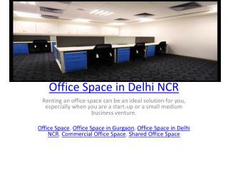 Office Space in Delhi NCR