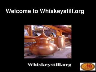 whiskey stills