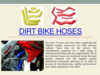 Dirt Bike Radiator Hose Kits