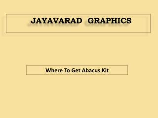Where to get abacus kit