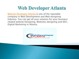 Web Design Atlanta | Website Design company Atlanta