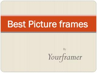 Online Picture Frames