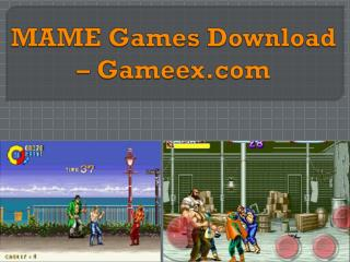 MAME Games Download – Gameex.com